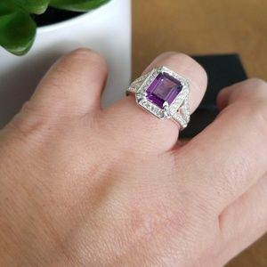 Avon Ring sterling silver size 8 with box